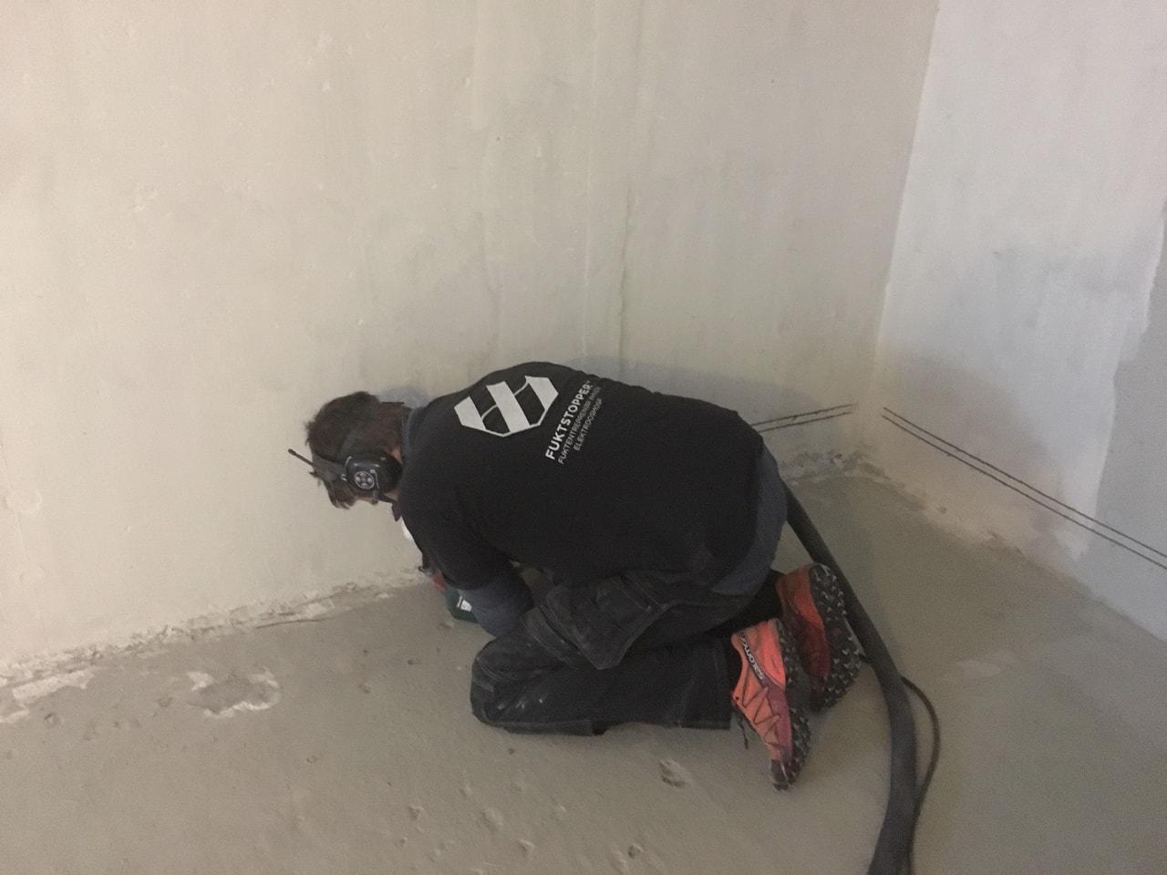 fuktsikring av mur